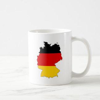 Deutschland, Alemania Taza Básica Blanca
