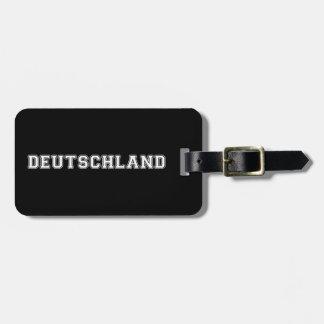 Deutschland Bag Tag