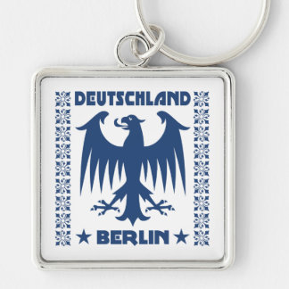 Deutschland Berlin German Eagle Symbol Keychain
