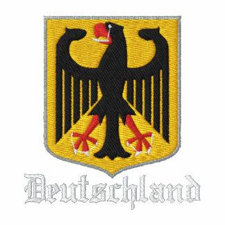 Deutschland bordó la camiseta
