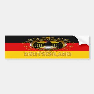 Deutschland Bumper Sticker Car Bumper Sticker