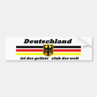 deutschland car bumper sticker