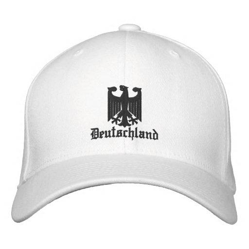 "Deutschland ""Coat of Arms"" Embroidered Cap"