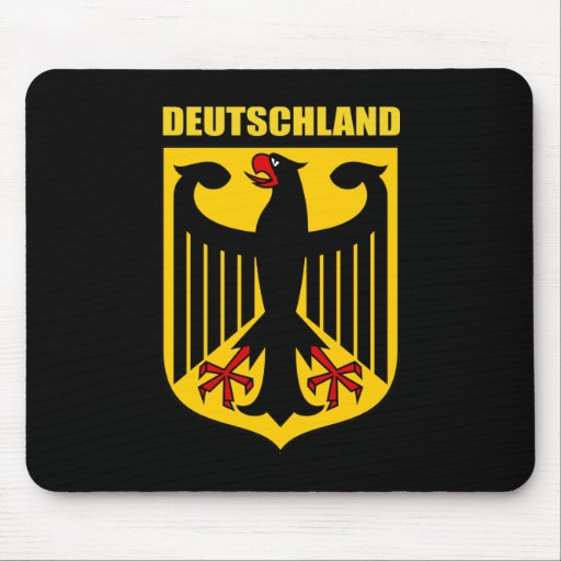 Deutschland Coat of Arms Mouse Pad