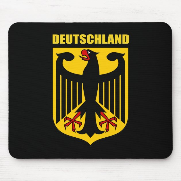 Germany Deutschland Coat of Arms Flag Key Chain NEW