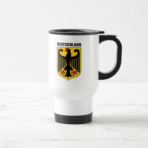 Deutschland Coat of Arms Mugs