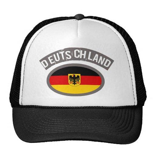Deutschland cool flag design! hats