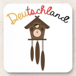 Deutschland Beverage Coaster