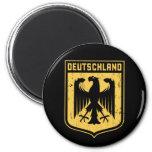 Deutschland Eagle - escudo de armas alemán Imanes De Nevera