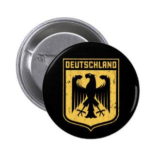 Deutschland Eagle - escudo de armas alemán Pin Redondo De 2 Pulgadas