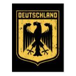 Deutschland Eagle - escudo de armas alemán Postales