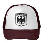 Deutschland Eagle - escudo de armas de Alemania Gorras De Camionero