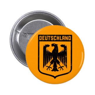 Deutschland Eagle - escudo de armas de Alemania Pin Redondo De 2 Pulgadas