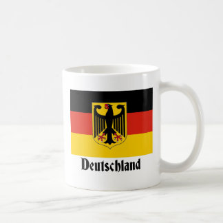 Deutschland Eagle Flag Coffee Mugs