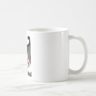 Deutschland Eagle Coffee Mugs