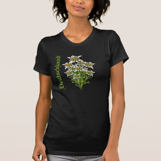 Deutschland Edelweiss Floral T-Shirt