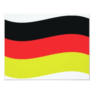 Deutschland Fahne icon Card