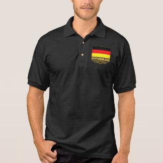 Deutschland Flag 2 Polo Shirt