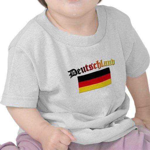 Deutschland Flag 2 Shirts