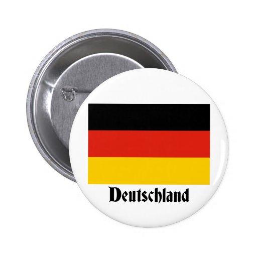 Deutschland Flag Button
