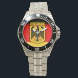 "Deutschland Flag &amp; Coat of Arms Watch<br><div class=""desc"">Deutschland Flag &amp; Coat of Arms</div>"