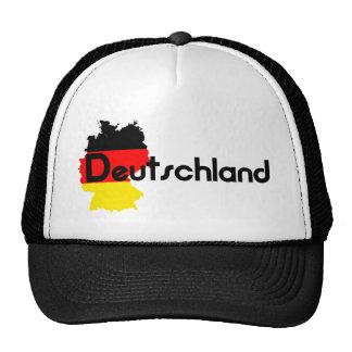 Deutschland flag colors! trucker hat