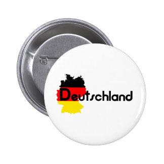 Deutschland flag colors! pinback button