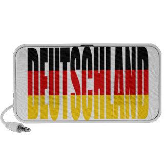 Deutschland flag Doodle Speaker