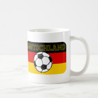 DEUTSCHLAND FLAG | FOOTBALL COFFEE MUG