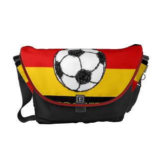DEUTSCHLAND FLAG   FOOTBALL MESSENGER BAGS