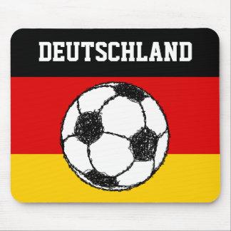 DEUTSCHLAND FLAG | FOOTBALL MOUSE PAD
