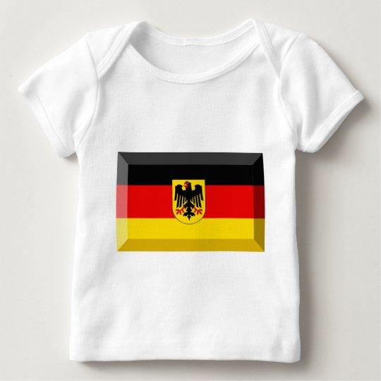 Deutschland Flag Gem Baby T-Shirt
