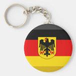 Deutschland Flag Gem Key Chain