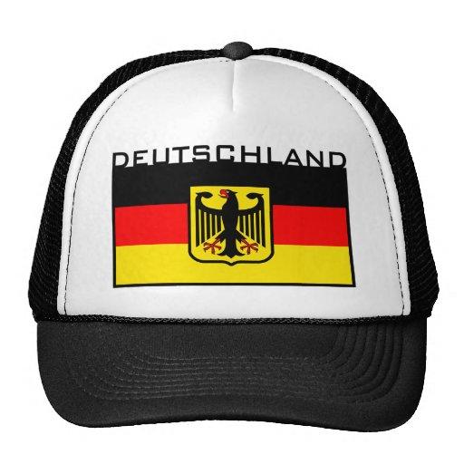 Deutschland Flag Trucker Hat