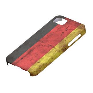 Deutschland Flagge iPhone 5 Fundas