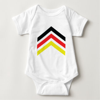 Deutschland Flagge icon Baby Bodysuit