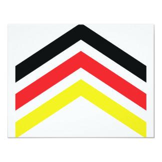 Deutschland Flagge icon Card