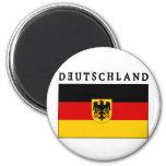 Deutschland Flagge Imán Para Frigorífico