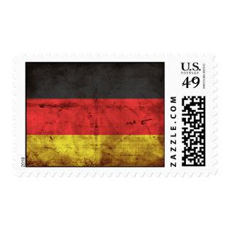 Deutschland Flagge Stamp