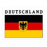 Deutschland Flagge Postal