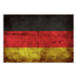 Deutschland Flagge Poster