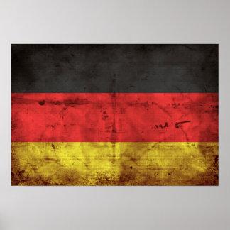 Deutschland Flagge Póster