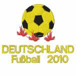 DEUTSCHLAND, Fußball 2010 Embroidered Track Jacket