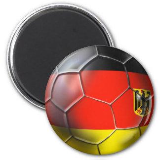 Deutschland Fußball 2012 2014 regalos del balón de Imán Redondo 5 Cm