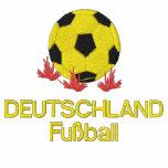 DEUTSCHLAND, Fußball bordó la chaqueta de chándal