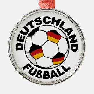 Deutschland  Fußball design Pendant Ornament