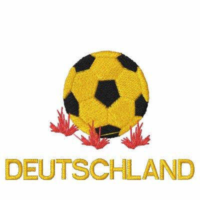 Deutschland Fussball Embroidered Polo shirt