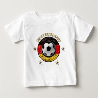 Deutschland Fussball Flagge Vier Sterne Baby T-Shirt
