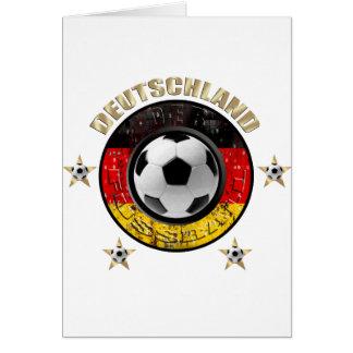 Deutschland Fussball Flagge Vier Sterne