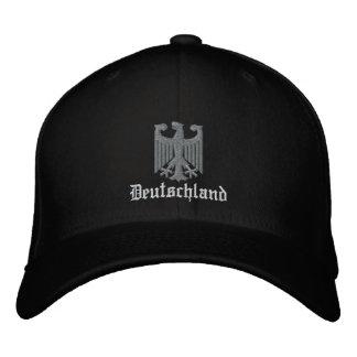 "Deutschland ""German Coat of Arms"" Embroidered Cap"